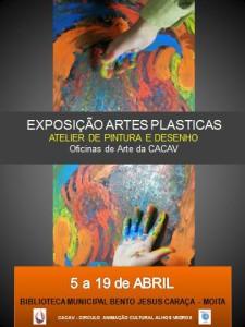 CURSO PINTURA - EXPO ABRIL - MOITA 2014