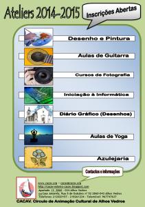Folheto 2014-2015 CACAV