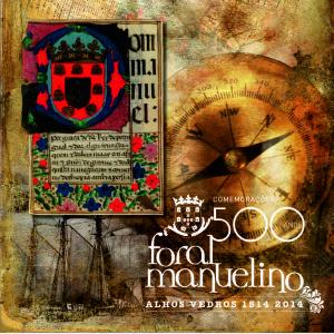 Azulejo dos 500 anos do Foral de Alhos Vedros