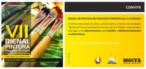 Convite VII Bienal (28 de Fevereiro de 2015)
