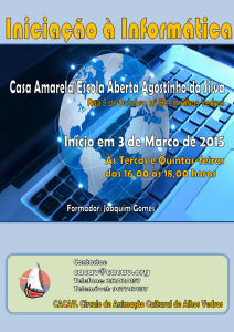 Iniciação à Informática 2015 (Divulgação)