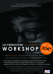 Workshop LUZ e RETRATOS (2015)