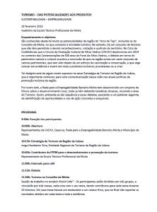 Workshop Turismo (Programa 1)