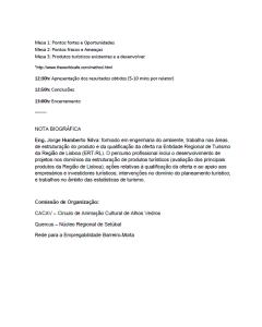 Workshop Turismo (Programa 2)