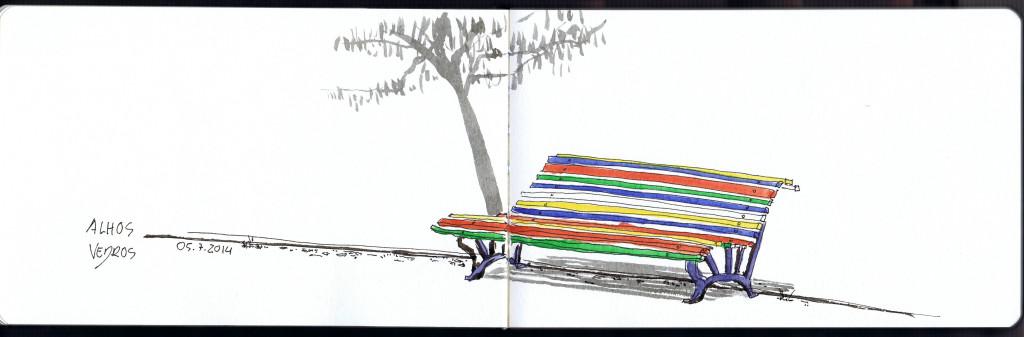 Desenho de Filipe Almeida, 2014