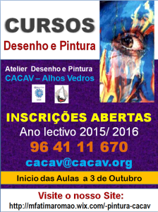 Atelier de Desenho e Pintura (Cartaz de Inscrições 2015-2016)
