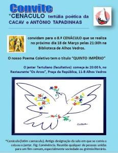 8º Cenáculo da CACAV