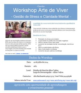 Arte e Viver (Workshop)