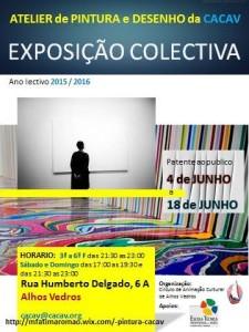 Exposição Colectiva CACAV 2016