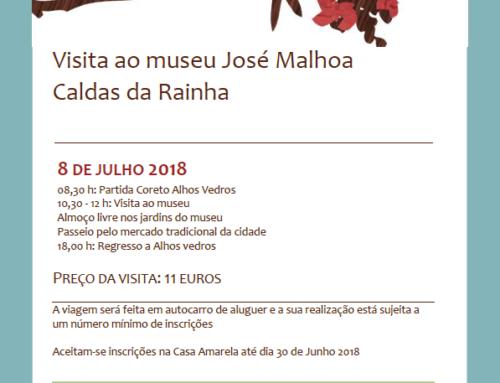 Visita ao Museu José Malhoa (Caldas da Rainha)