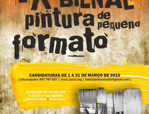 IX Bienal de Pintura de Pequeno Formato. Prémio Joaquim Afonso Madeira 2019