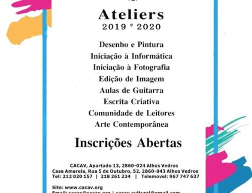 Ateliers da CACAV 2019-2020